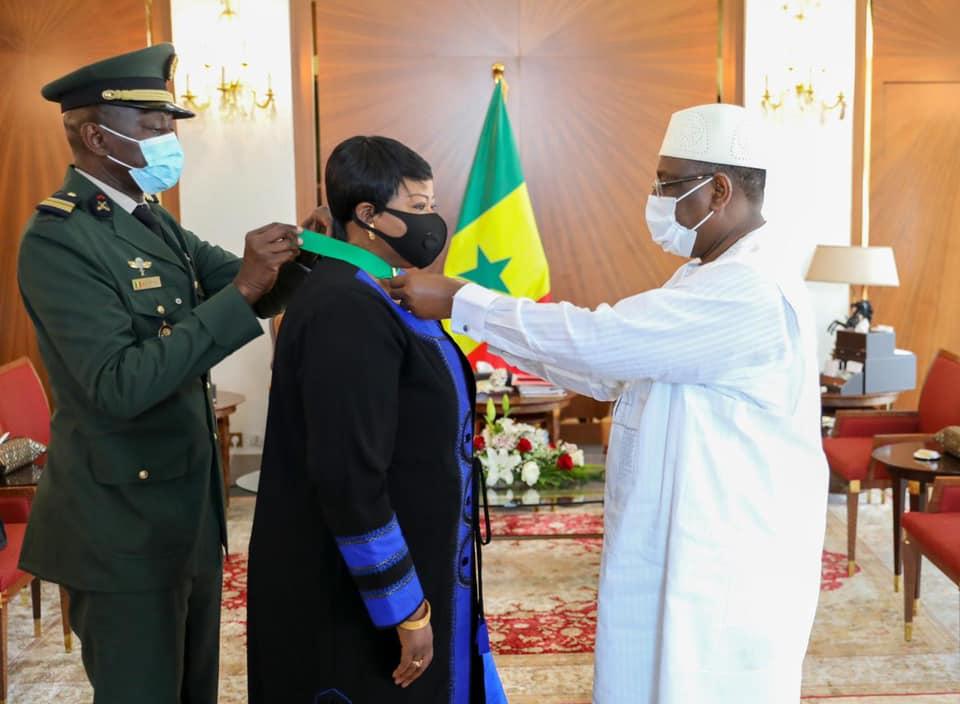 Sénégal : Fatou Bensouda devient commandeur dans l'ordre national du lion