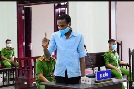 Un footballeur africain condamné à mort au Viêtnam, la raison