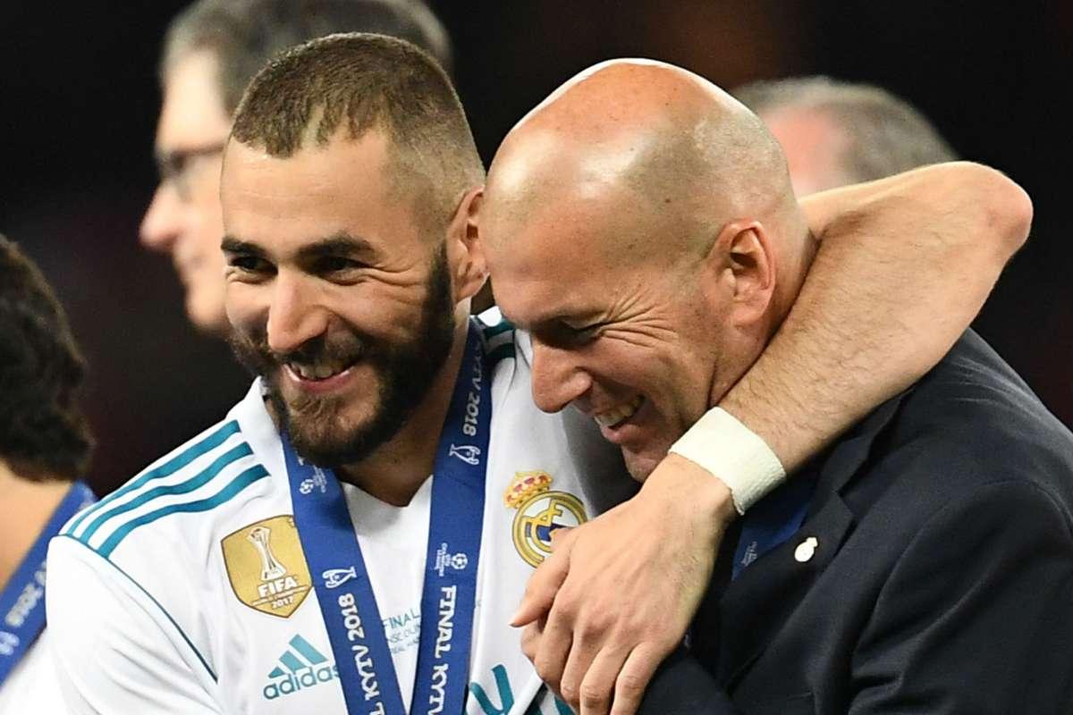 Zinedine Zidane réagit au retour de Benzema en équipe de France