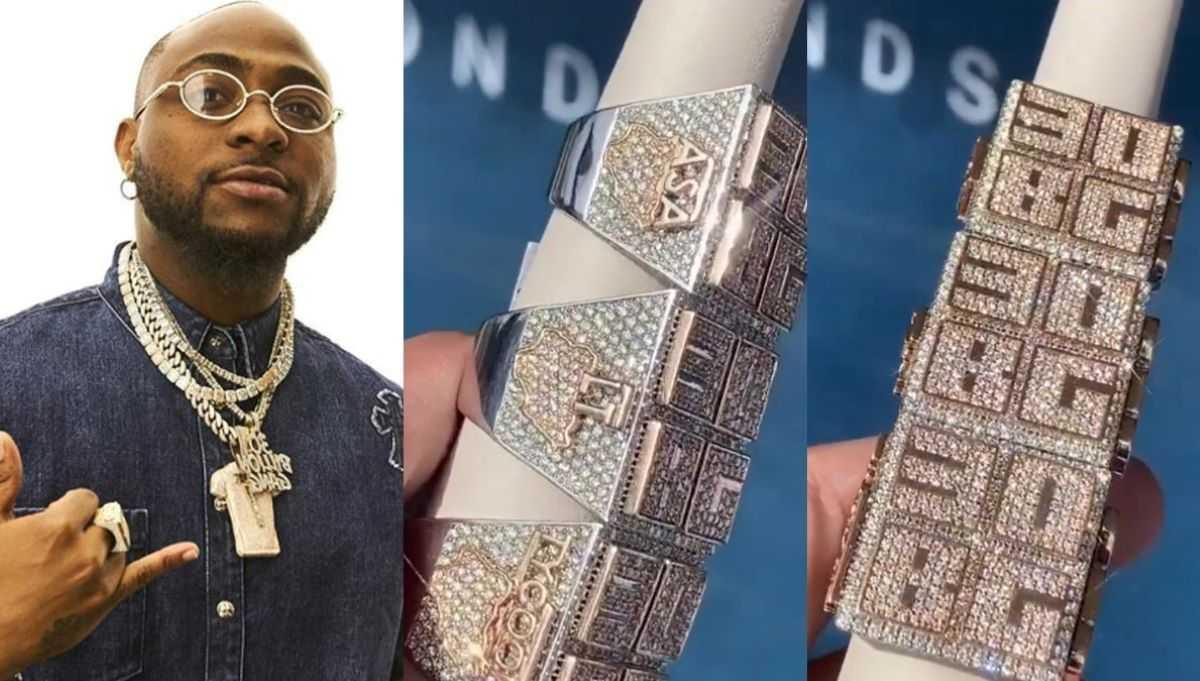 Davido et son grand amour pour les bijoux coûteux