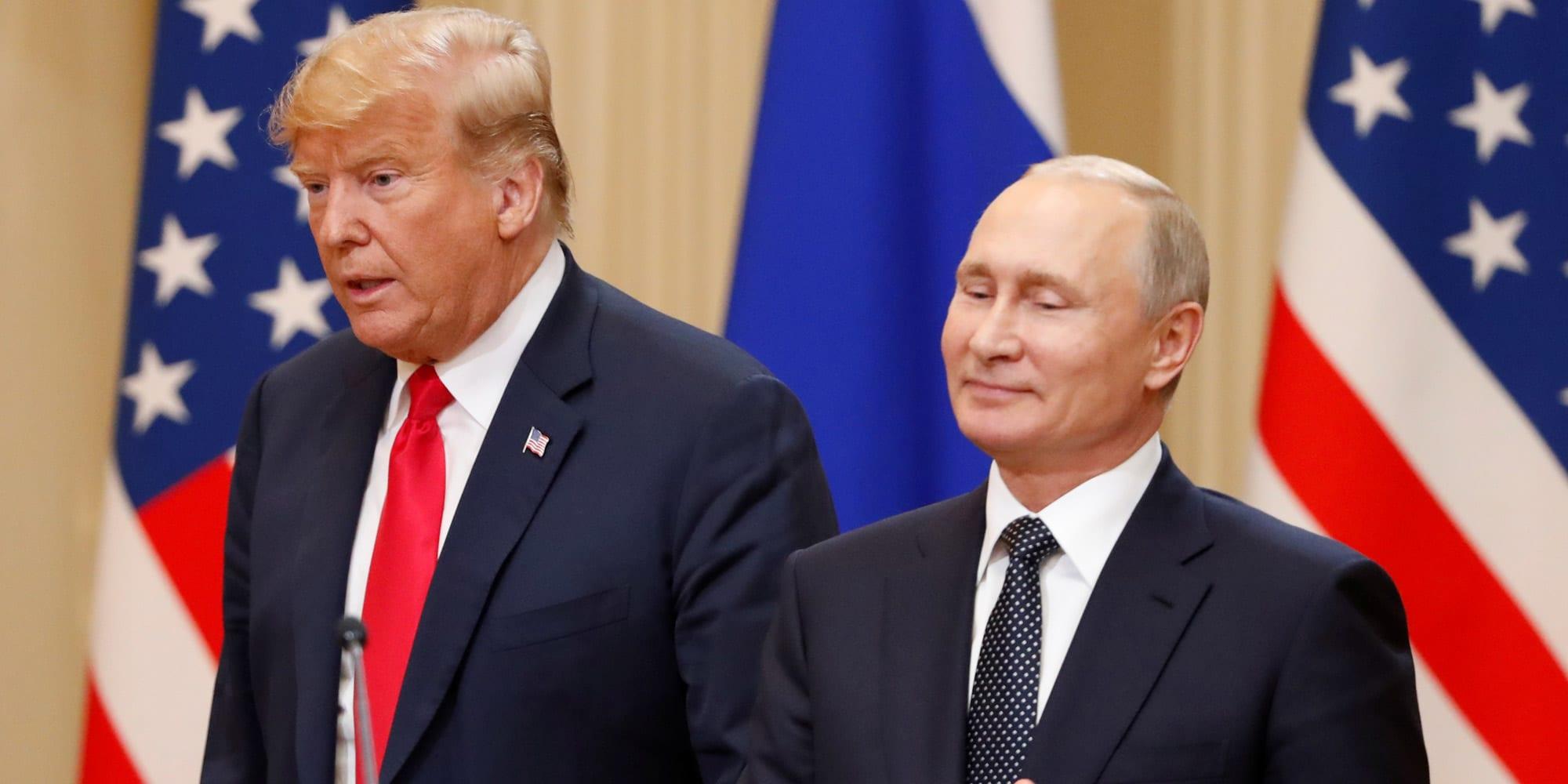 Vladimir Poutine : « Donald Trump Est Un Homme Talentueux »