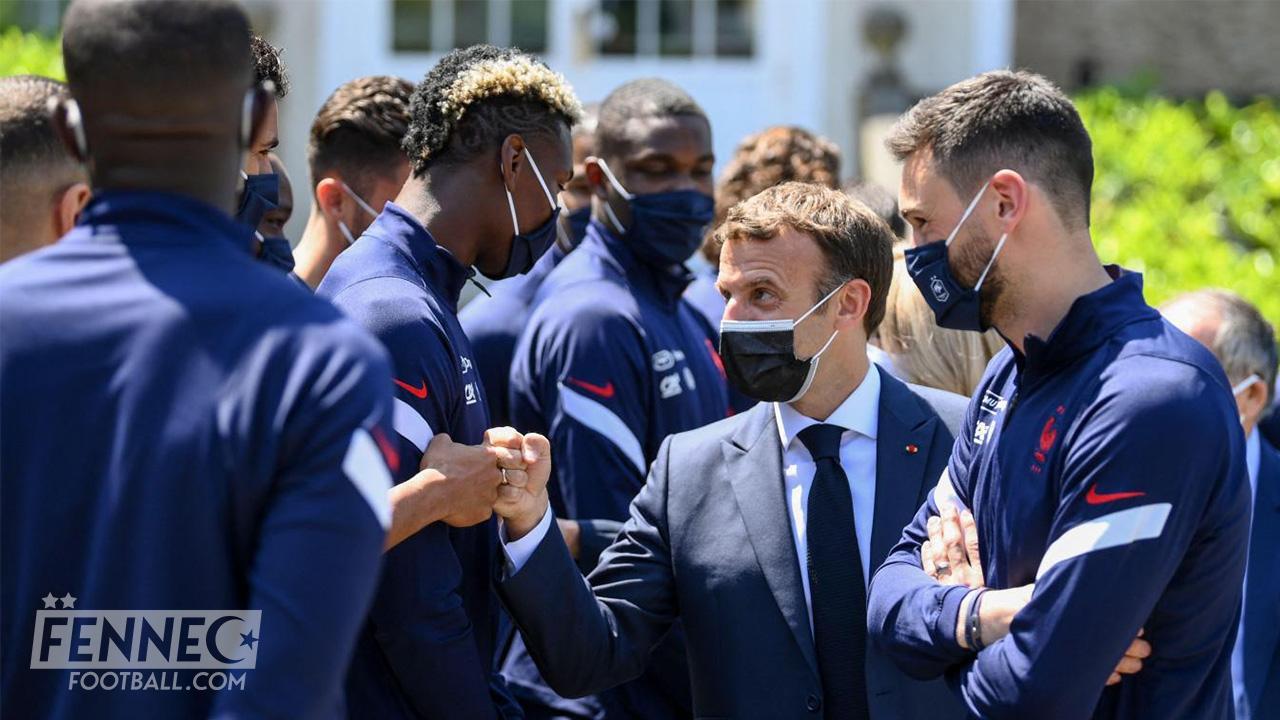 Equipe de France: Après la gifle, Macron rend visite aux Bleus