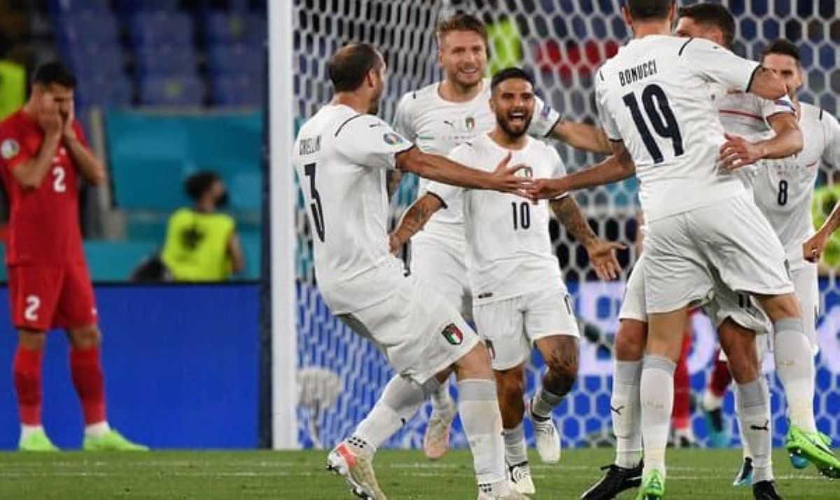 Euro 2021 : l'Italie démarre fort face à la Turquie