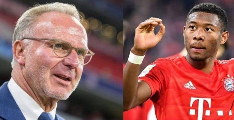 Football : Le Président Du Bayern Munich Tacle Alaba Après Son Départ Au Real Madrid
