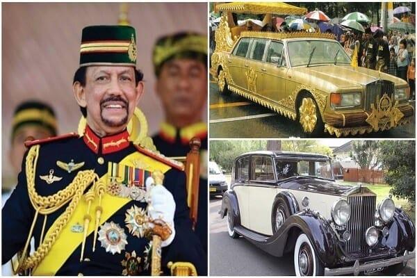 Hassanal Bolkiah : le sultan de Brunei qui possède 500 Rolls-Royce et de nombreuses voitures de luxe