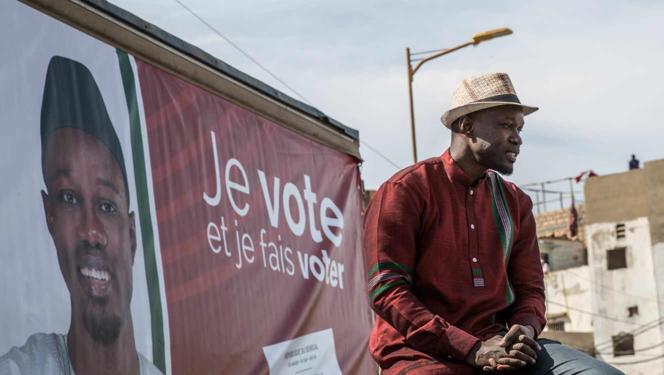 Ousmane Sonko : &Quot;Macky Sall Est Très Petit Pour M'Empêcher D'Être Candidat En 2024&Quot;