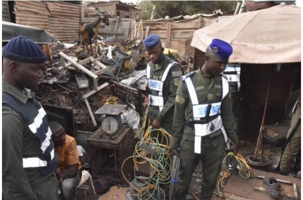 Sénégal/Dakar: 873 personnes interpellées au quartier Ancienne Piste