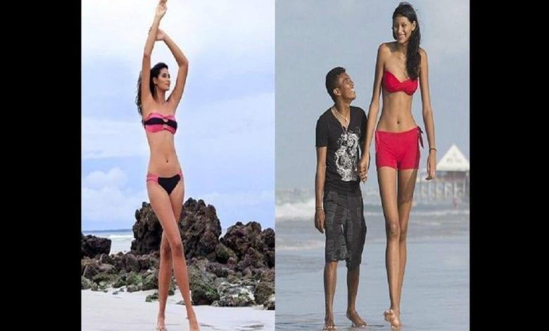 Une Brésilienne révèle ce que c'est que d'être l'une des femmes les plus grandes du monde