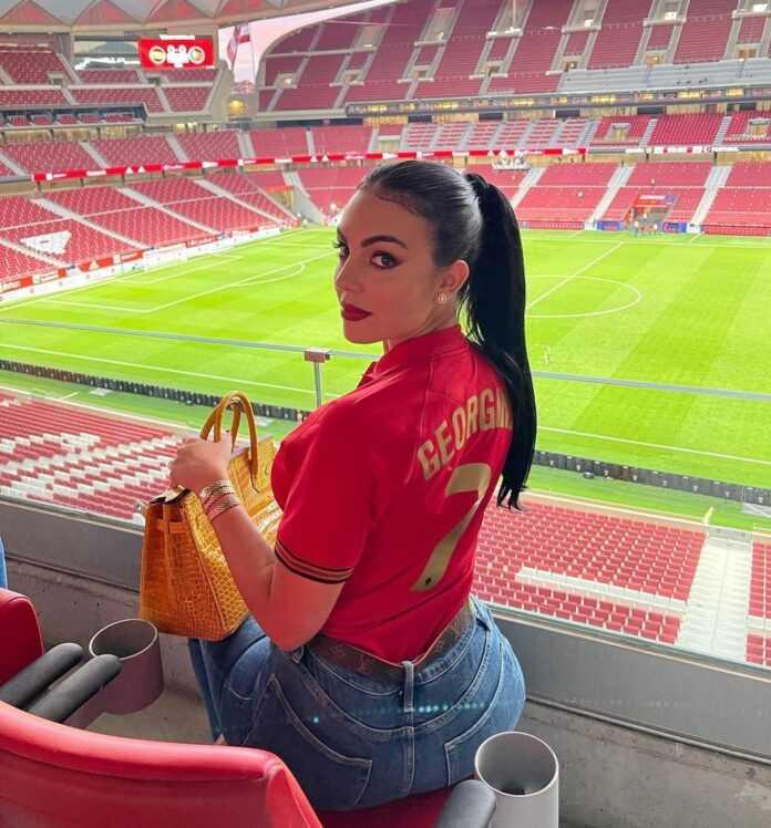 Euro 2021 : « Bonne Chance Mon Amour », Le Message De Georgina Rodriguez À Cristiano Ronaldo