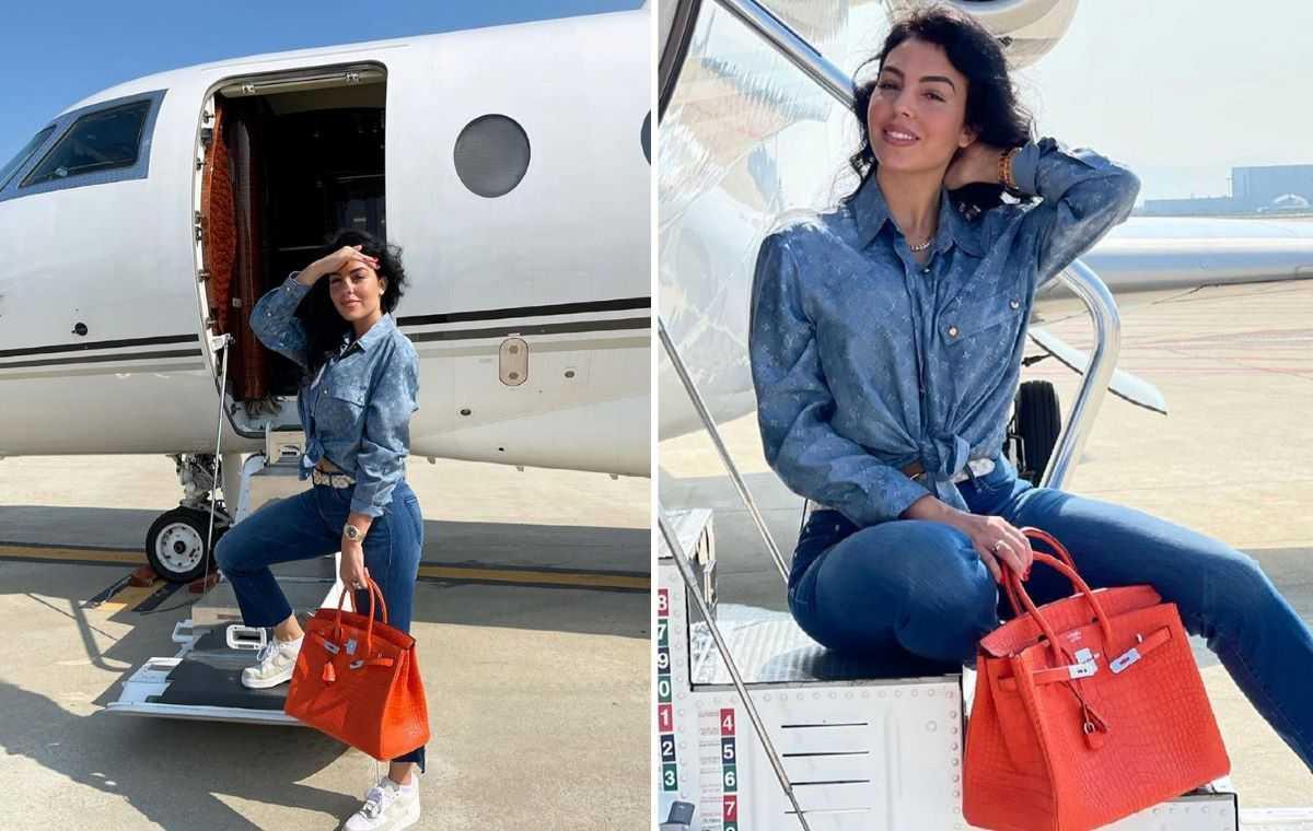 Le nouveau jet de Georgina coûterait 70 millions d'euros à Ronaldo !