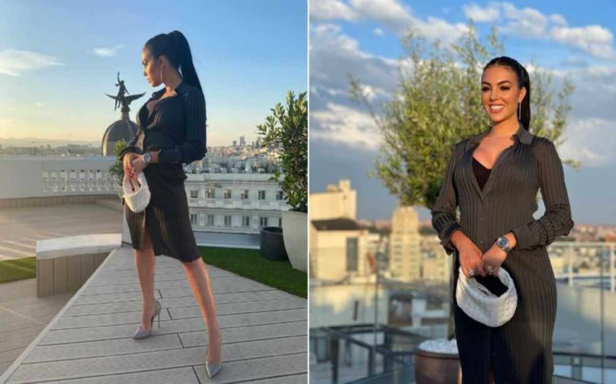 Dans une robe sublime, Géo avec CR7 pour inaugurer un autre hôtel à Madrid