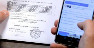 Attention : On Ne Publie Pas Une Photo D'une Convocation Sur Les Réseaux Sociaux