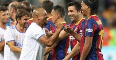 Clasico Des Légendes: Le Real Madrid Domine Le Fc Barcelone (3-2)