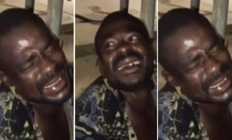 Ghana: un voleur forcé à rire en se faisant frapper pour avoir volé des câbles-Vidéo