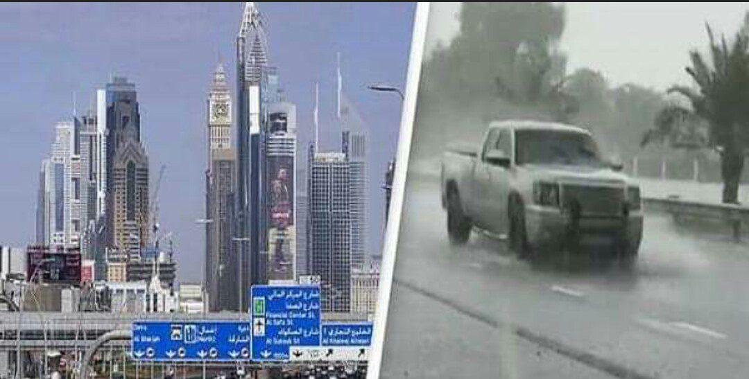 Dubaï : Une Fausse Pluie Créée Pour Lutter Contre L'Extrême Chaleur