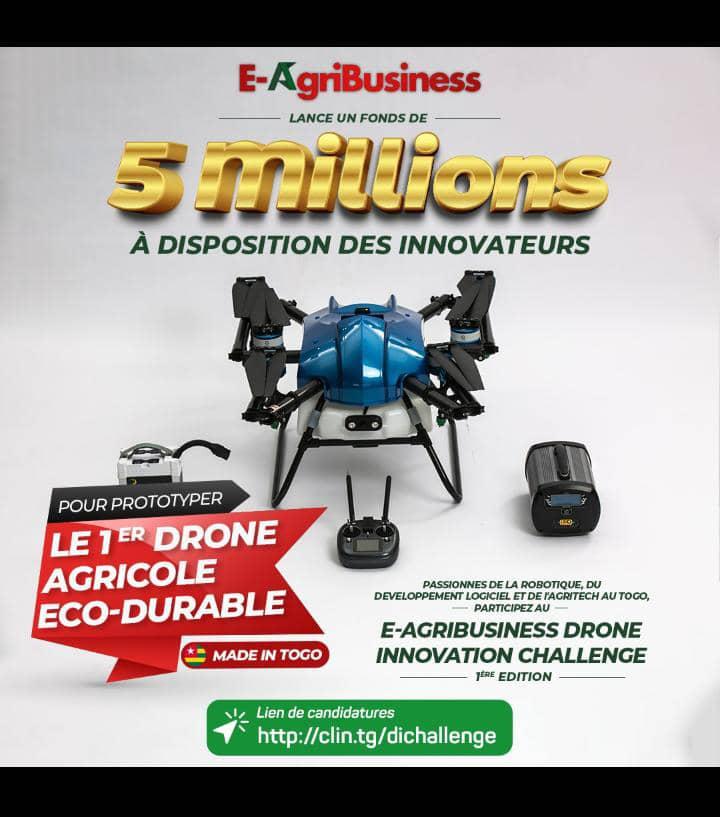 Togo/ Concours De Prototypage De Drone : 5 Millions Fcfa Pour Le Gagnant