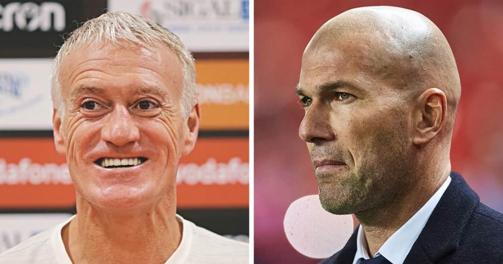 Équipe De France : Didier Deschamps Ou Zinédine Zidane ?